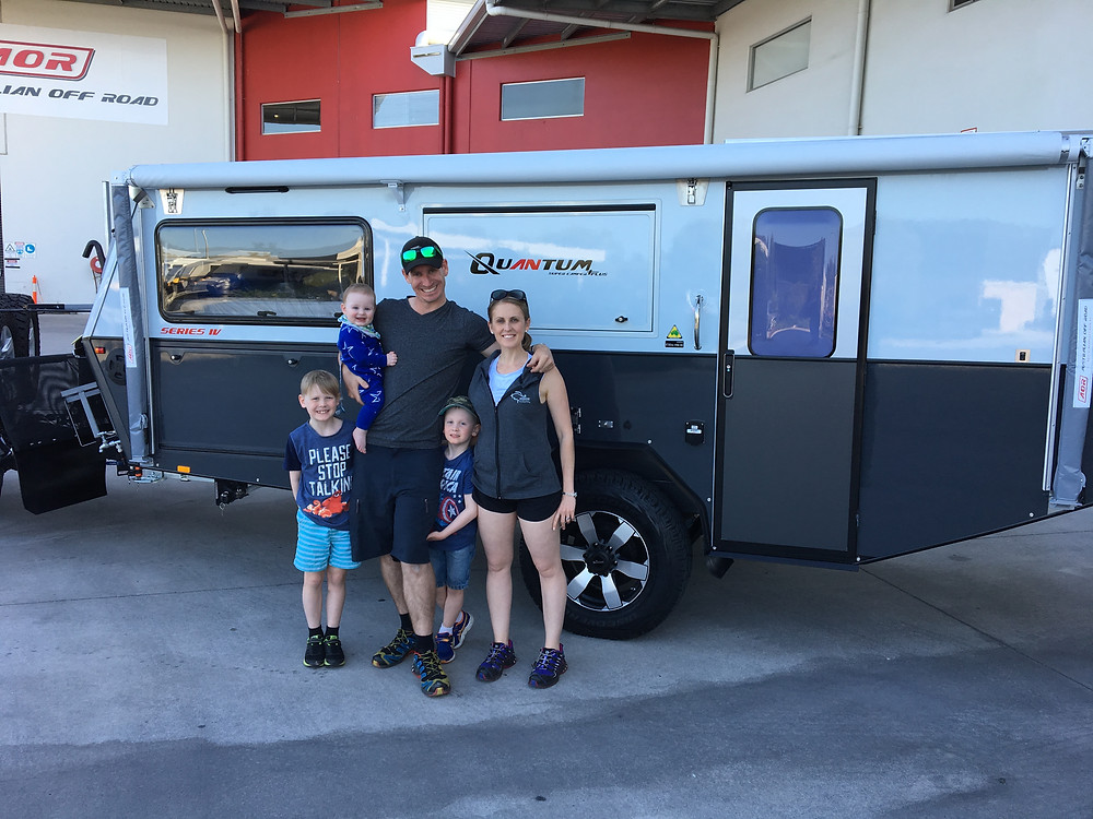 AOR Quantum plus travelling family