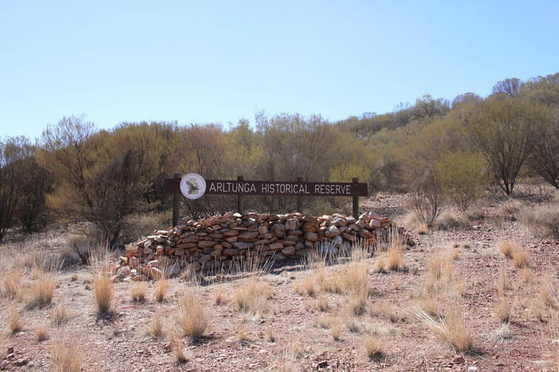 East Mac ranges Arltunga Historical reserve