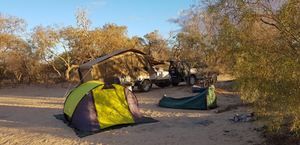 Mungerannie station outback camping