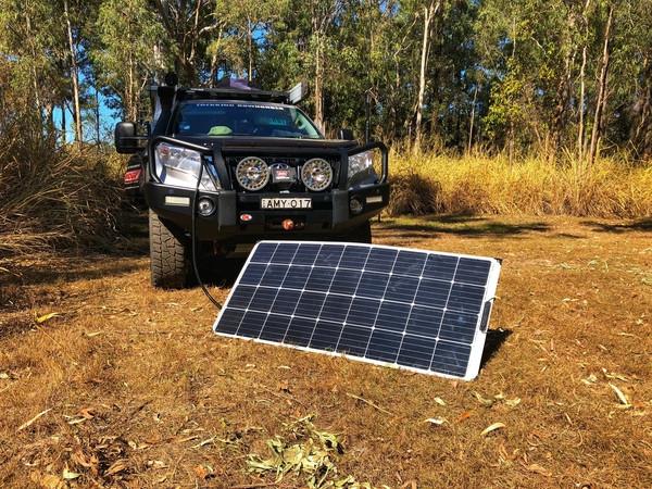 Trax RV 150W Flexible Solar Panel