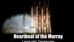 Swan Hill Laser Light Spectacular - Heartbeat of the Murray