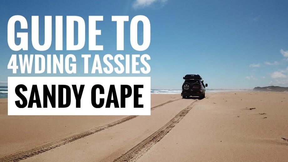 4wding Tasmanias Sandy Cape