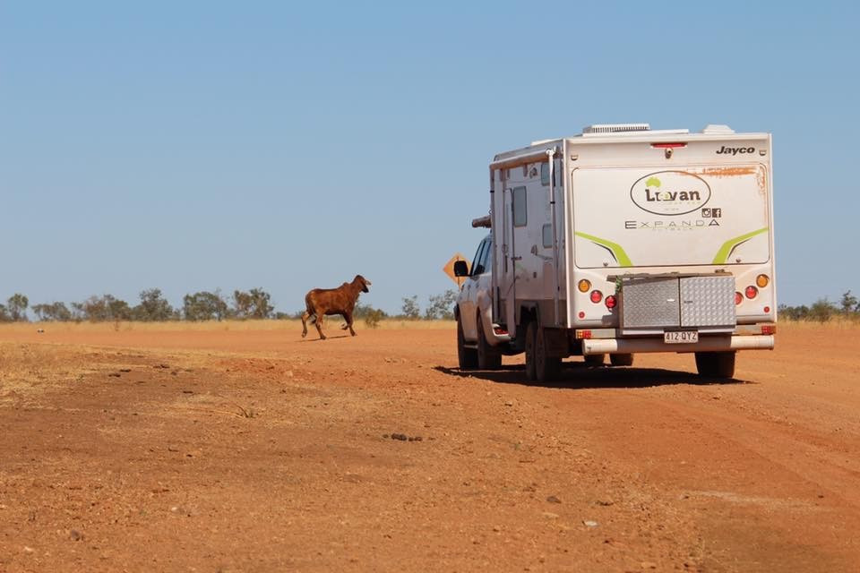 Typical Outback Scenary