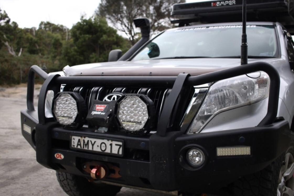 Bushranger Night Hawk VLI LED Driving Lights