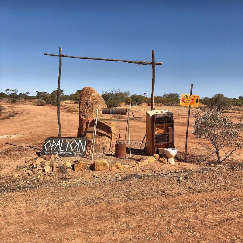 Outback Queensland Opalton