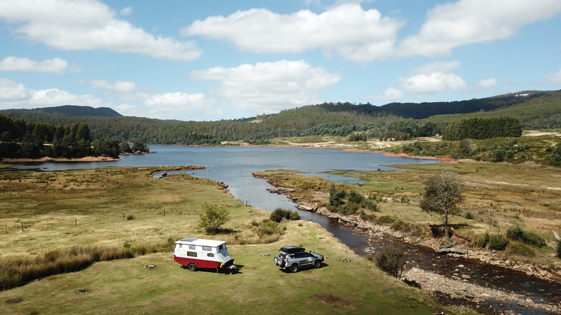 Lake Gairdner Free Camp