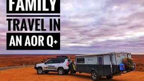 Family Travelling in an AOR Quantum Plus