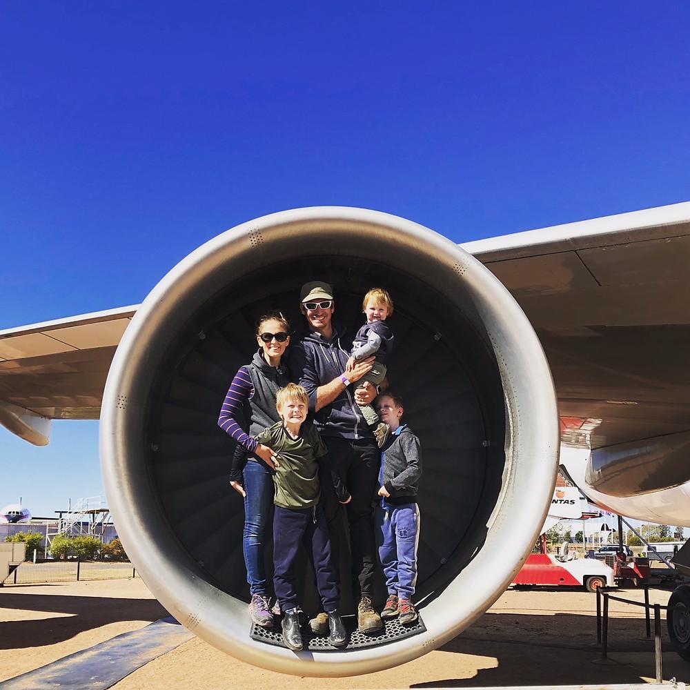 qantas jet tour