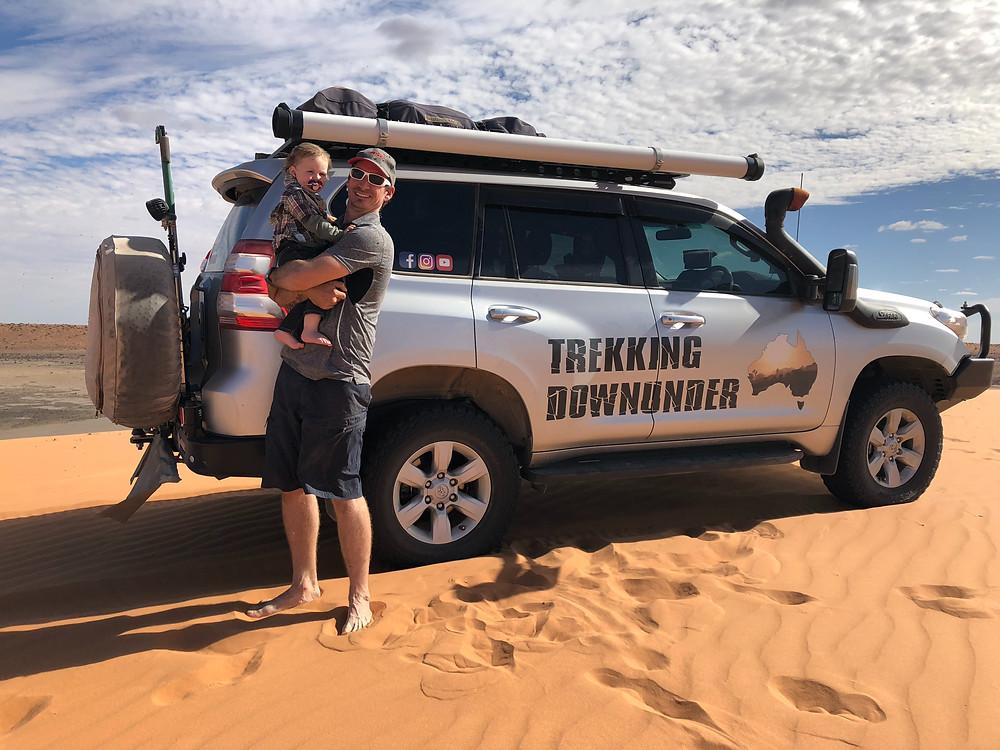 Trekking Downunder overlander travelling family