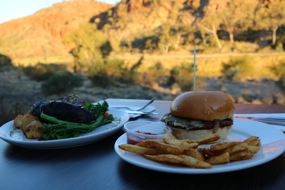 Glen Helen Lodge incredible Outback Food