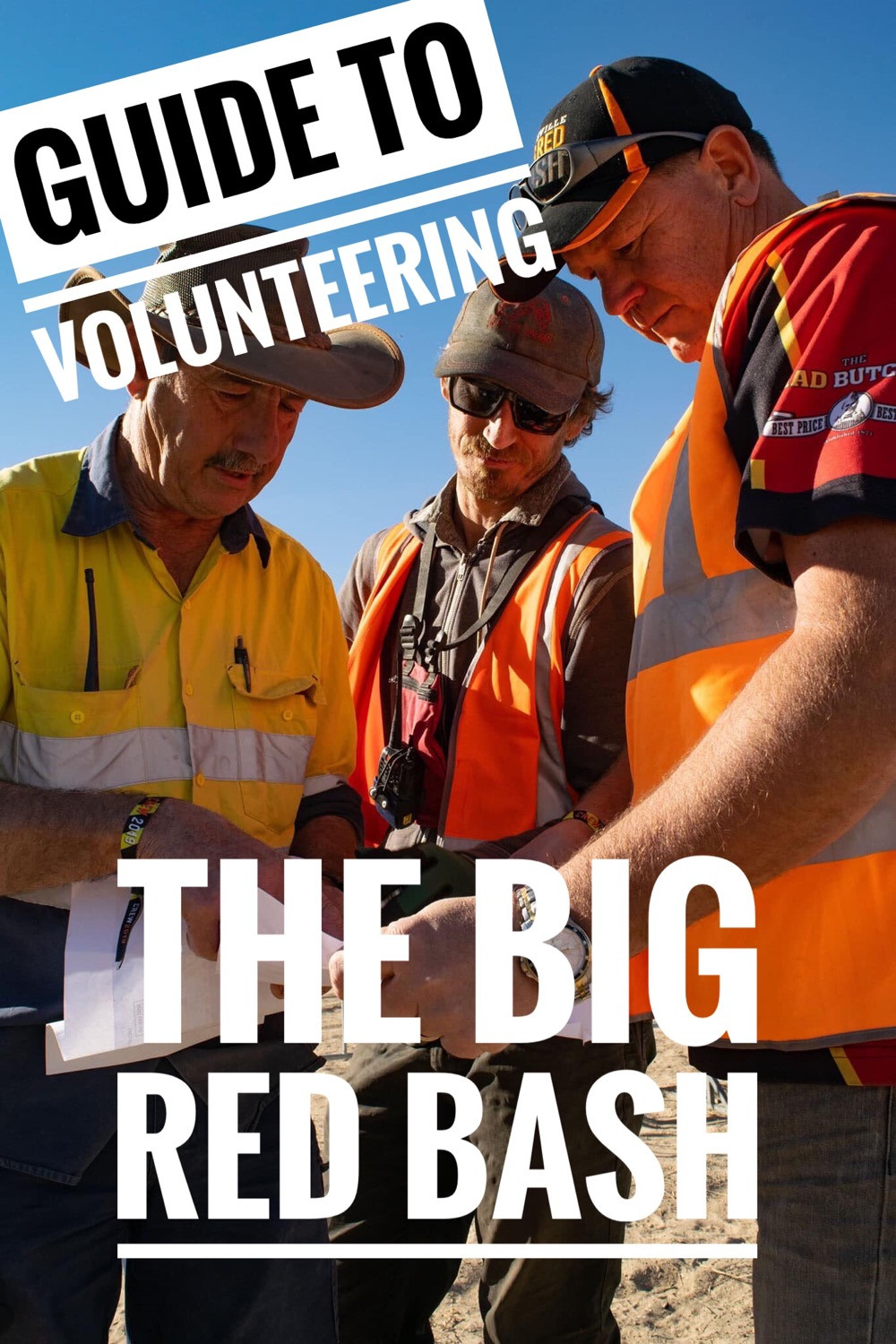 the how to guide volunteering at the big red bash