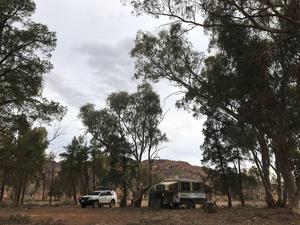 Warraweena Station camping