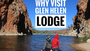 Why visit Glen Helen Lodge in the MacDonnell Ranges