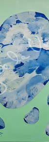 Collage acrilico sobre pvc y papel. Medidas 50x70 cms