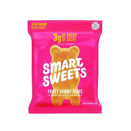SMART SWEETS - FRUITY GUMMY BEARS 12X