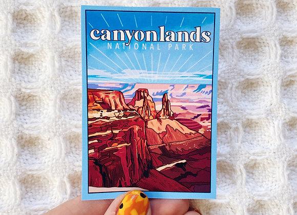 Canyonlands National Park Sticker