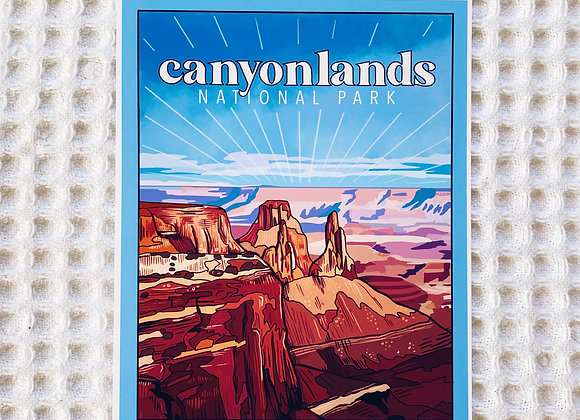 Canyonlands National Park Print