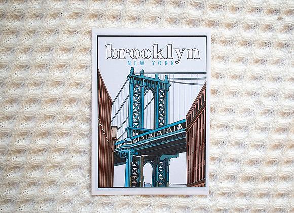Brooklyn, New York Print