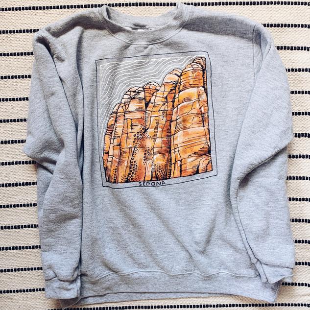 Sedona Hand Painted Sweatshirt