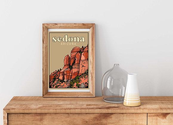 Sedona Arizona Print