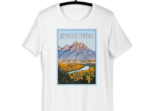 Grand Teton National Park Location Shirt
