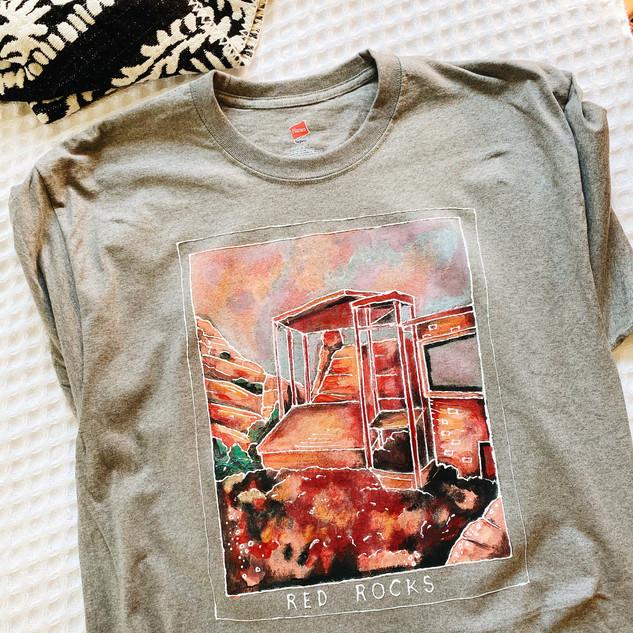 Garden of the Gods Hand Painted Shirt