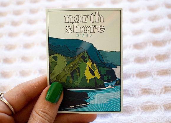 North Shore O'ahu Sticker