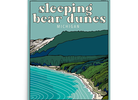 Sleeping Bear Dunes Poster