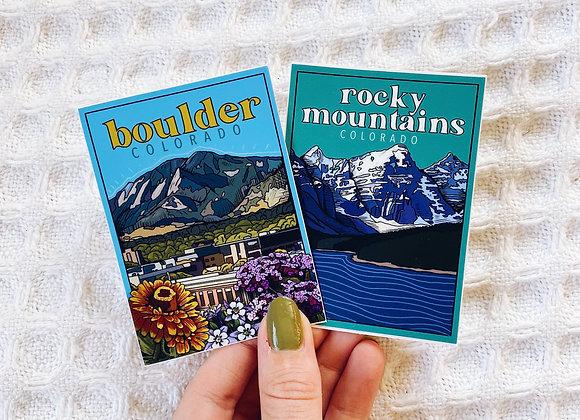 Colorado Sticker Set