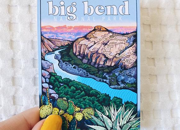 Big Bend National Park Sticker (100% Profit Donations)