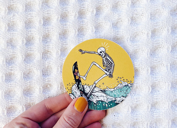 Death Drop Sticker