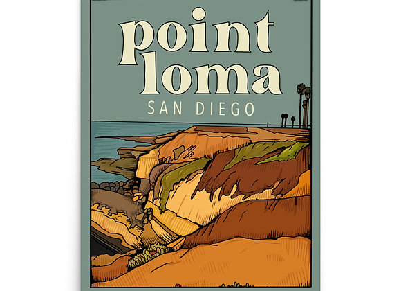 Point Loma Poster