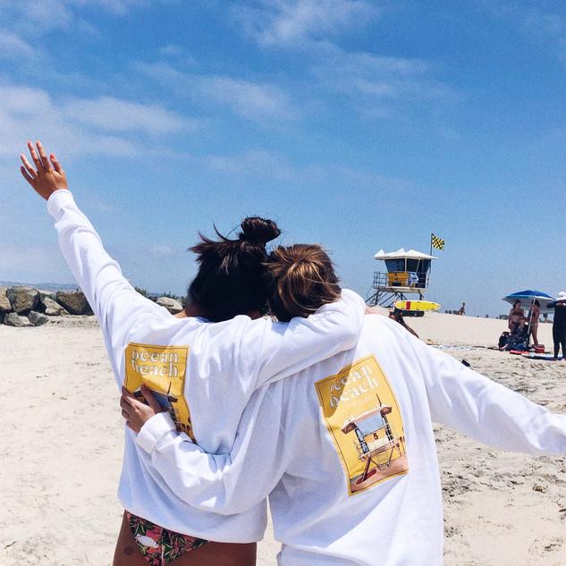 Ocean Beach Crewnecks at Ocean Beach!
