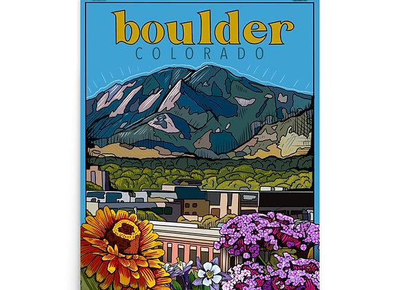 Boulder Poster
