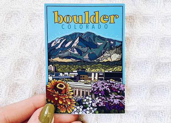Boulder, Colorado Sticker
