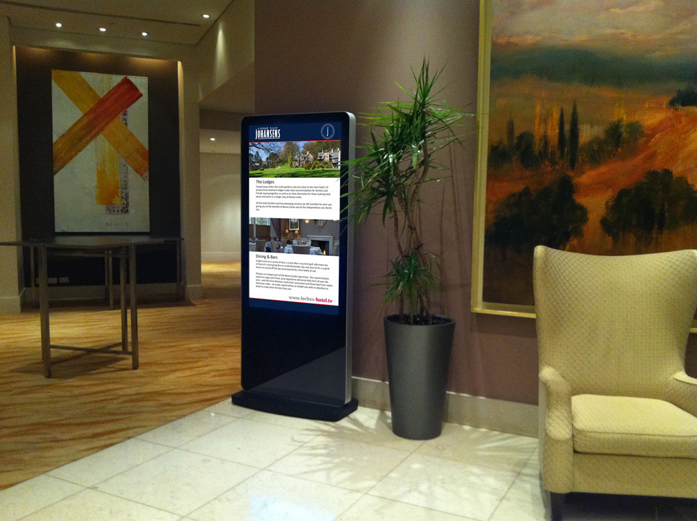 All-in-One Network Screen - Freestanding