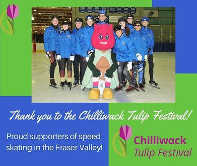 Thank you to the Chilliwak Tulip Festiva