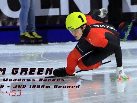 Samuel Green breaks BC 1000m record at Candian Junior Championships!