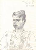 Portrait of Nicolas Keim  Pencil on sketchbook paper