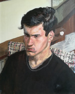 Portrait of Raffaele van Dun  Oil on canvas