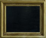 Black painting  Oil on panel