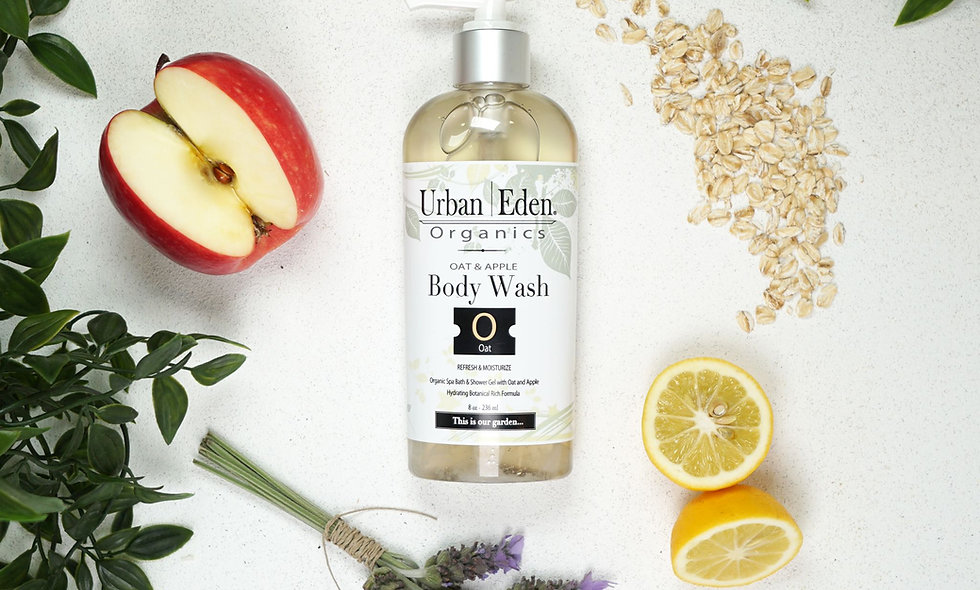 Naked Oat + Apple Body Wash
