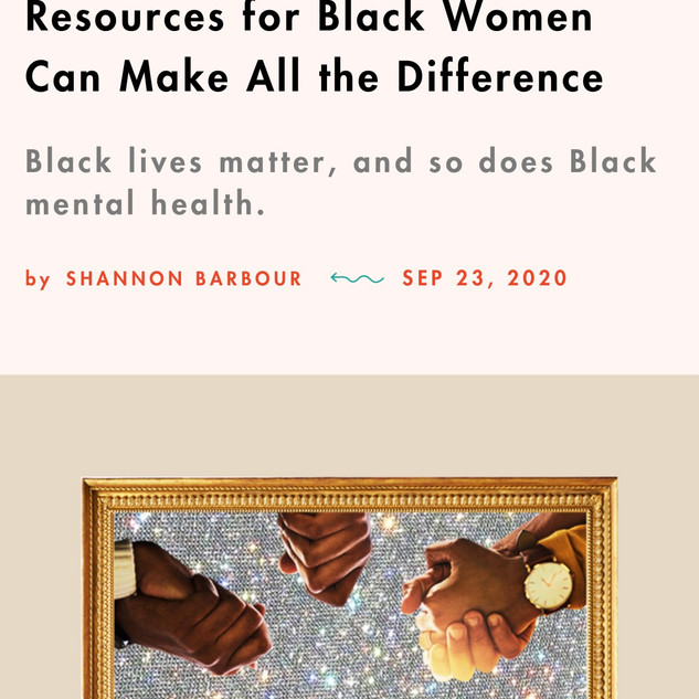 These Virtual Mental Health Resources for Black Women Can Make All the Difference