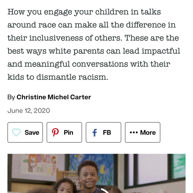 The White Parent's Guide to Raising Anti-Racist Kids