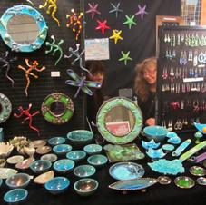 Craft fair at the Southbank