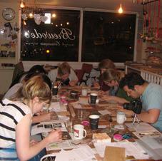 Tile workshop at Brewodes