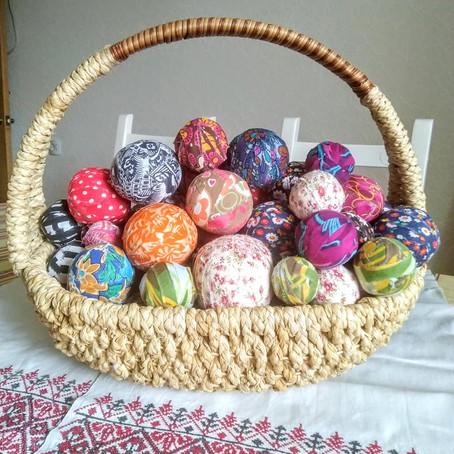 Скрученные мячики
