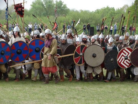 О празднике древних воинов, весеннем громе и хорошем настроении