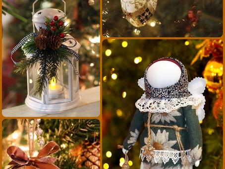 """Кукла """"Мамка"""" и """"Рождественский ангел"""""""