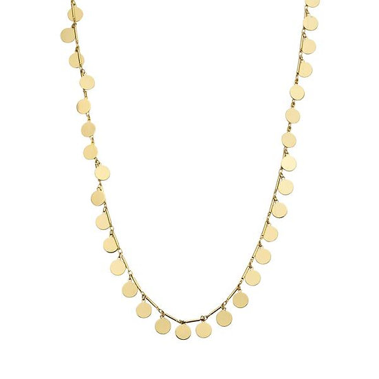 SDP -  CHAH9 - ROND FINE CHAIN GOLD NECKLACE